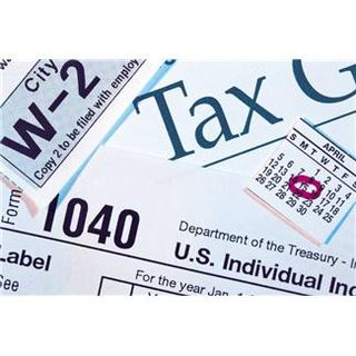 1040 tax papers