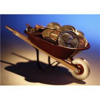 Money wheelbarrel