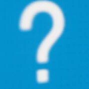 Question mark blue