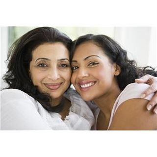 Woman and mother