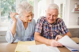 Older couple Planning