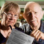 Older couple worried