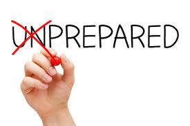 Unprepared