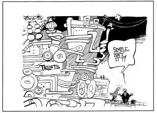 Trust-Cartoon
